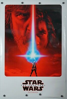 Star Wars the Last Jedi - original DS movie poster - 27x40 D/S Adv B - Gd/VG-