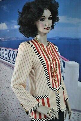 Vintage designer EMANUEL UNGARO PARALLELE PARIS blazer jacket SIZE 8 ITALY