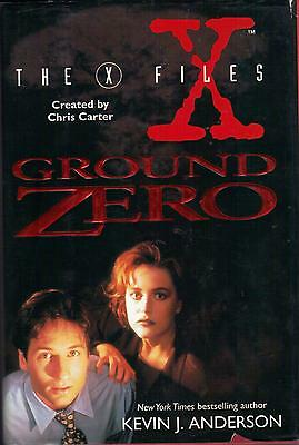 THE X-FILES : GROUND ZERO  rare FIRST EDITION hardcover book