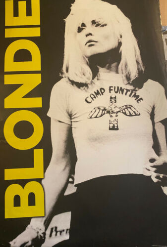 BLONDIE - MUSIC POSTER - 24x36 SHRINK WRAPPED - DEBBIE HARRY