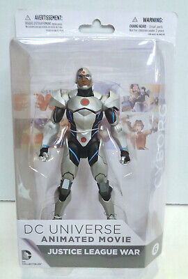 DC Universe Justice League War Cyborg Action Figure (2014) DC Collectibles New 6 for sale  Shipping to India