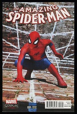 c9fb99b6a1eb Amazing Spider-Man 1 Ltd 1 for 15 Retailer Incentive Variant Comic Cosplay  Cover