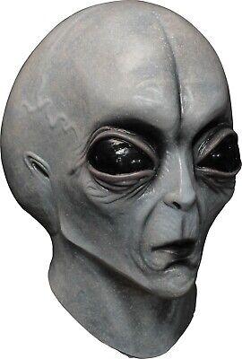 Area 51 Halloween (Halloween AREA 51 ALIEN Latex Deluxe Mask Ghoulish Productions)