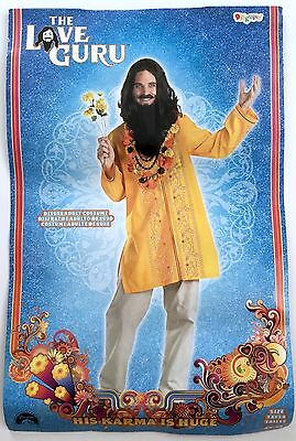 The Love Guru Mike Myers Hippie Sherpa Flower Child Mens Halloween Adult Costume