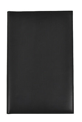 Authentic Ghurka Black Leather Legal Notebook Pad Case 9.5 X 14.5 New