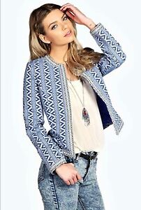 BOOHOO LANA AZTEC BED JACKET Maryland Newcastle Area Preview