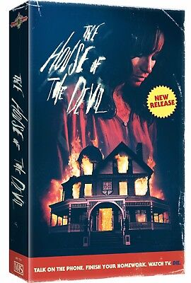 House of the Devil - VHS Clamshell - Ti West - Brand New!