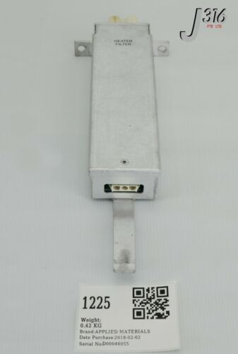 1225 Applied Materials Rf Filter, 200mm Producer W/ 0100-00698 0090-02346