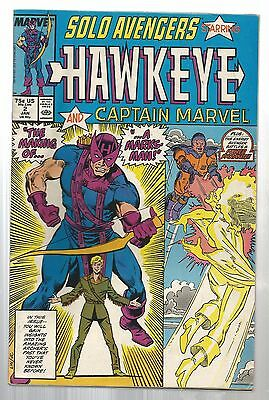 Solo Avengers #2 (Jan 1988, Marvel Comics.)