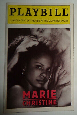 MARIE CHRISTINE - OPENING NIGHT PLAYBILL, DEC 2, 1999 - Audra McDonald