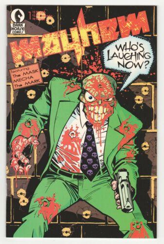 Mayhem #1 (Dark Horse 1989) Early Appearance of The Mask (Big Head)