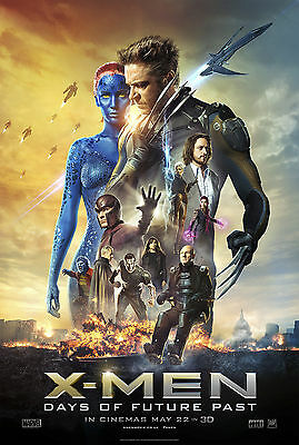 X-Men - Days of Future Past - A3 Film Poster - FREE UK P&P