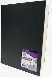 Skizzenbuch Sketchbook simply Hardcover gebunden A6 Daler Rowney 110 Blätter NEU