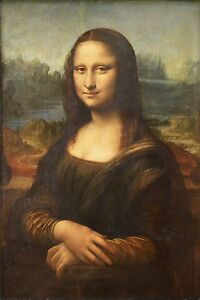 MONA-LISA-16x20-CANVAS-PRINT-LEONARDO-DA-VINCI-PAINTING-MOST-FAMOUS-ART-RARE