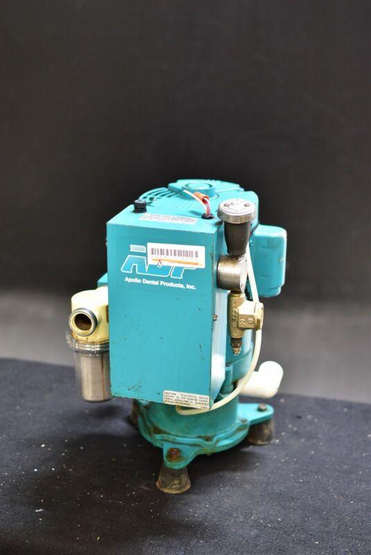 Adp Apollo Avsv1500 Dental Wet Vacuum Pump System Operatory Suction Unit