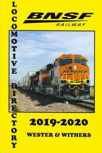 BNSF Railway 2019-2020 Locomotive Directory - (NEW BOOK)