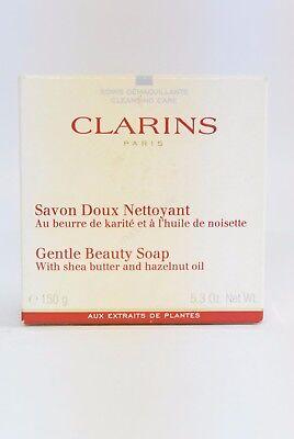 *Clarins - Savon Doux Nettoyant Gentle Beauty Soap 150g Neu & OVP*
