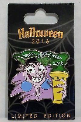Disney Channel Happy Halloween (Disney Happy Halloween 2016 Yzma Emperors New Groove Stained Glass Pin LE)