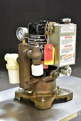 Customair Dentalez Cv 102 Fs Dental Air Compressor Unit 220v Wet Pump