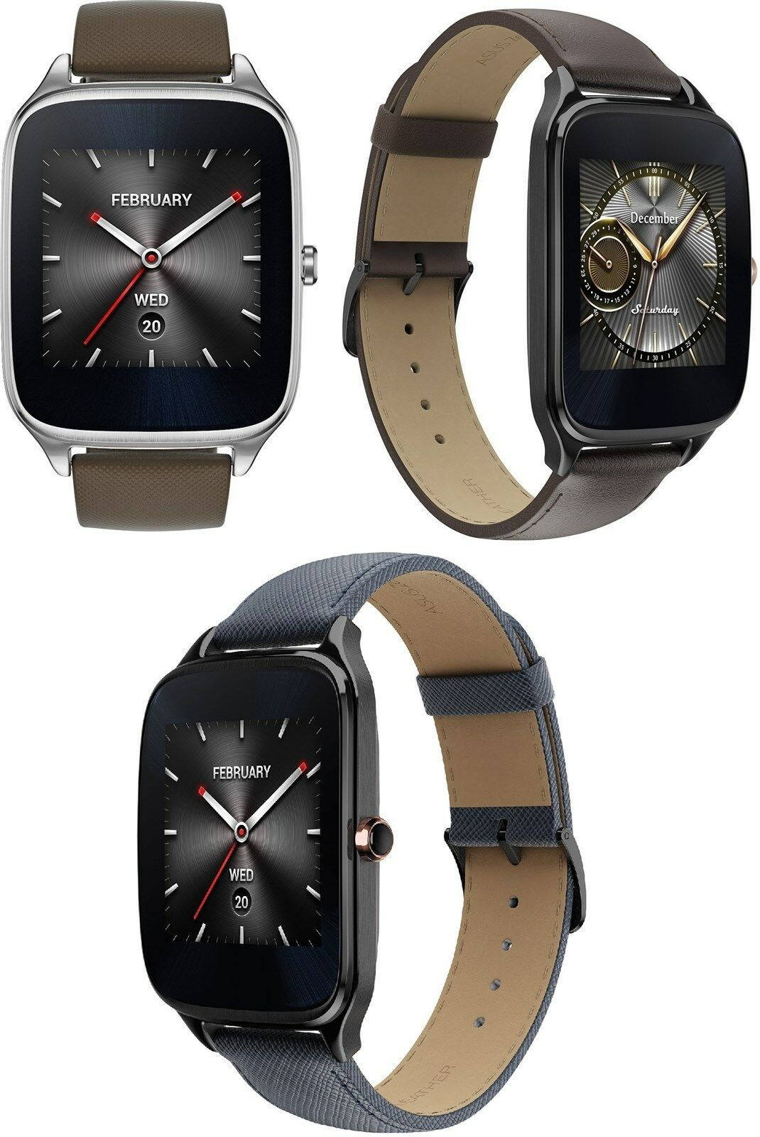 Asus ZenWatch 2 4GB 1 2GHz 1 63 Bluetooth iOS/Android Touchscreen Zen SmartWatch