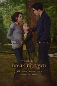 TWILIGHT BREAKING DAWN - A3 Poster (ca. 42 x 28 cm) - Clippings Fan Sammlung NEU