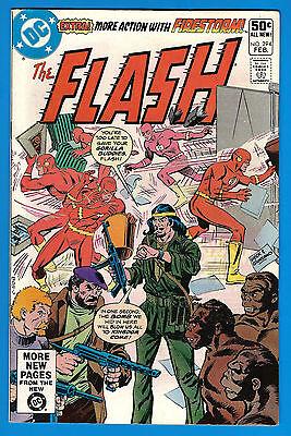 FLASH # 294  - Volume 1 - DC 1981  (fn) Firestorm - Lego Ad on back