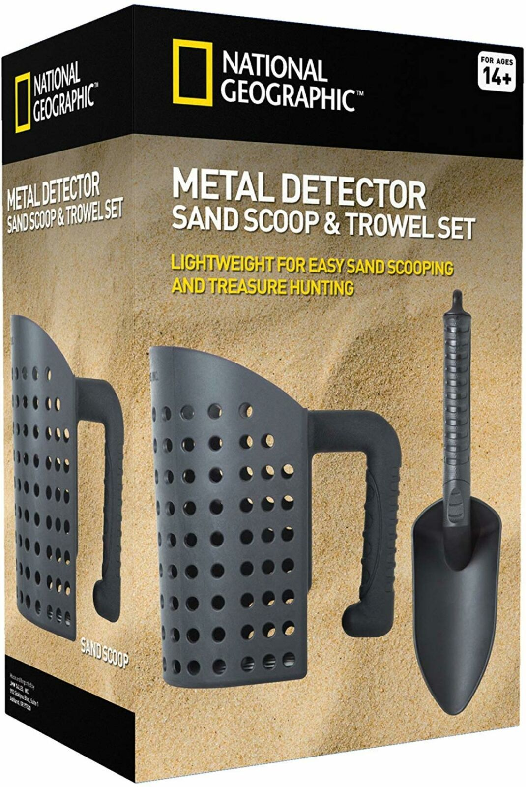 NATIONAL GEOGRAPHIC Sand Scoop and Shovel Accessories for Metal Detecting Other