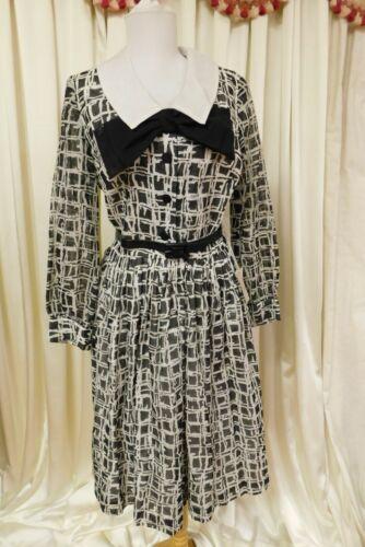 Vintage Black White 1950