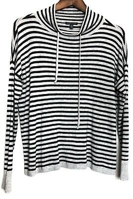 Eileen Fisher Striped Sweater Size XS Knit Pullover Long Sleeve Soft Stretchy