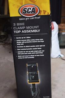 NEW SCA 3 bike carrier RRP : $155 - Bicycle mount for car etc