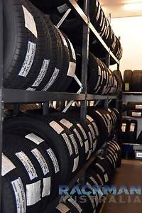 Tyre Racking and Shelving - Passenger and Truck Welshpool Canning Area Preview