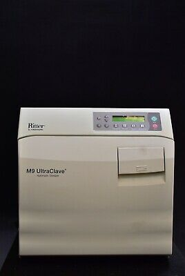 Ritter By Midmark M9 Dental Medical Steam Autoclave Sterilizer - Low Price