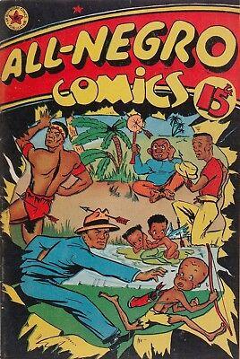 All-Negro Comics #1 Photocopy Comic Book