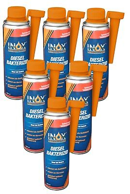 Diesel Bakterizid Anti Bacteria Bakterienschutz Reiniger Additiv DB 6x 250 ml - Reinigung Von Klimaanlagen Filter