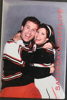 Saturday Night Live Cheerleaders Will Ferrell/Cheri Oteri Magnet - 1997 (Will Ferrell Cheerleader)