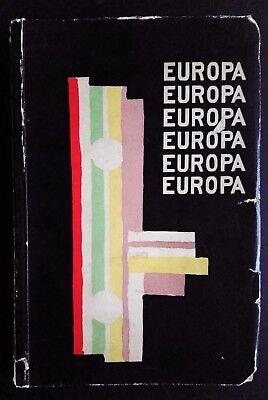 EUROPA 1925 Almanac Painting Literature Fashion Music Architecture Art Modernism