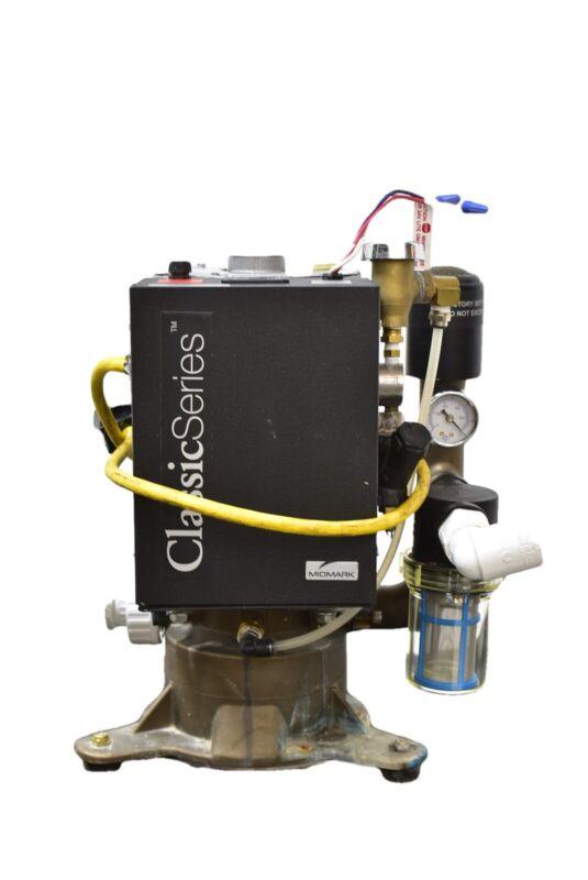 Midmark Classic Series CV3 Dental Vacuum Pump REFURBISHED w/ 1 YEAR WARRANTY