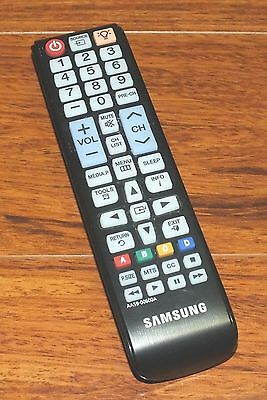 Genuine Samsung (AA59-00600A) Pre-Programmed Remote Control w/ Battery Cover