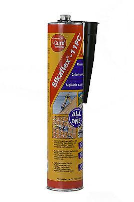 Sikaflex 11 FC elastischer 1 Komopenten Dichtstoff 300ml Kartusche schwarz
