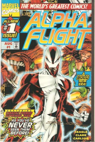 Alpha Flight (1997) Dynamic Forces (signed by Steven Seagle) 1/250