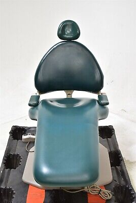 Green Adec 1040 Cascade Dental Exam Chair For Operatory Patient Comfort