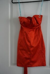 Red Marciano evening dress