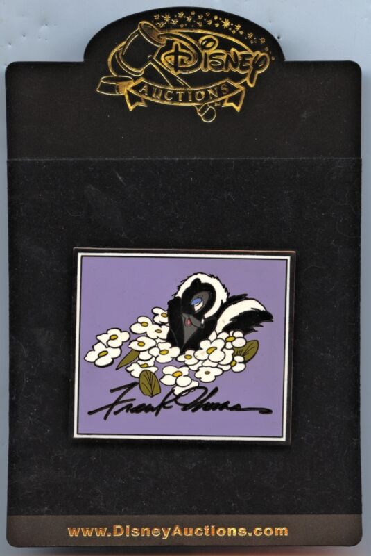 Disney Auctions - Frank Thomas Pin Series - Flower from Bambi (LE 100)