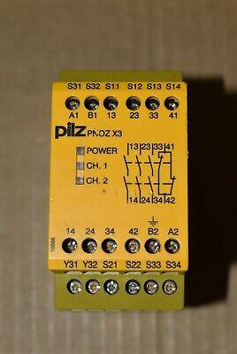 Pilz Pnoz X3 Safety Relay Cat No. 774316 112412