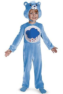 Care Bears Grumpy Bear Toddler Costume 24M 2T New w Tag New 2014 BOYS & GIRLS - Toddler Care Bear Costume