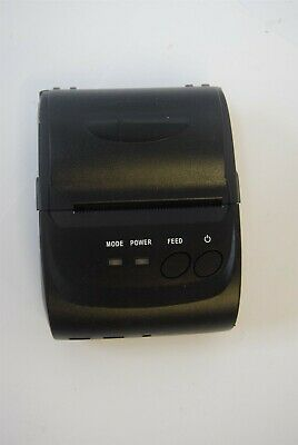 Munbyn Imp006 Imp006b-bk 58mm Mobile Bluetooth Thermal Receipt Printer
