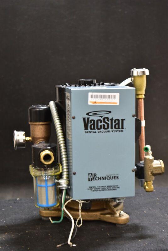 Air Techniques Vacstar 20 Dental Vacuum Pump Refurbished W/ 1 Year Warranty