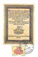 Cartolina Maximum - Centenario Unificazione Ordinamenti Notarili - 1975 -  - ebay.it