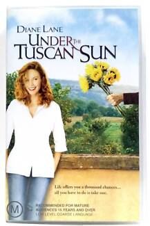 Movie Under the tuscan sun Vhs video tape 2003 rare Diane Lane Glendenning Blacktown Area Preview