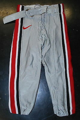 AUTHENTIC OSU Ohio State Buckeyes Game Day Football Pants-NIKE LICENSED APPAREL  (Ohio State Football Apparel)